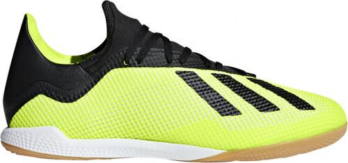 57d44381c02 Pánské sálové kopačky adidas Performance X TANGO 18.3 IN (Žlutá   Černá    Bílá)