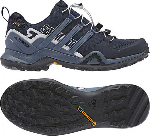 Dámske outdoorové topánky adidas Performance TERREX SWIFT R2 GTX W (Tmavo  modrá   Fialová   11e8717ef67
