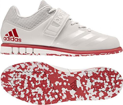 7bb0b3d0905 Speciální boty adidas Performance Powerlift.3.1 (Slonová kost   Červená)