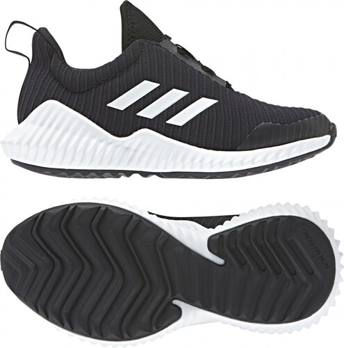Detské tenisky adidas Performance FortaRun K (Čierna   Biela) - Glami.sk d5370e51cde