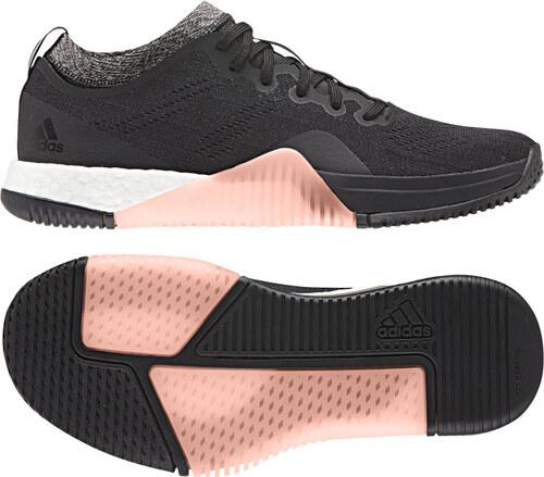 28037e3bcef -40% Dámske fitness topánky adidas Performance CrazyTrain Elite W (Čierna    Šedá   Broskyňová)