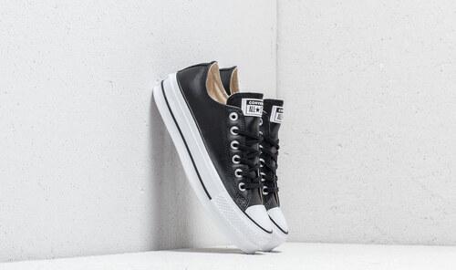 398a4d7d9b1 Converse Chuck Taylor All Star Lift Clean OX Black/ Black/ White ...