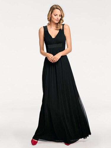 2057d42415e heine TIMELESS Večerní šaty černá - Glami.cz