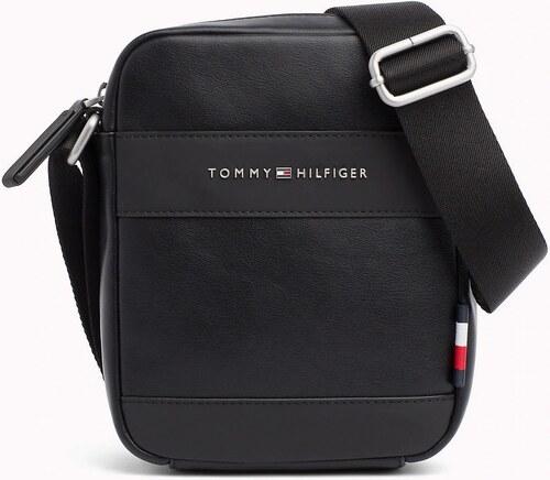 Tommy Hilfiger čierna pánska taška TH City Mini Reporter - Glami.sk d103f3727e4