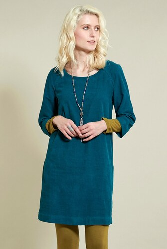Nomads Manšestrové tunikové šaty modré - Glami.cz 57bd40a9c3