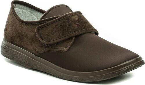 2cc51e30a360 Dr. Orto - Befado Dr. Orto 131M005 hnědé pánské nadměrné zdravotní boty