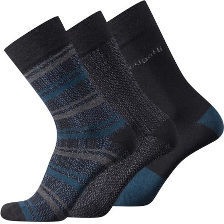 Pánske ponožky Bugatti Seperated Lines mixed stripes (3 páry) - Glami.sk 45afff0d2e