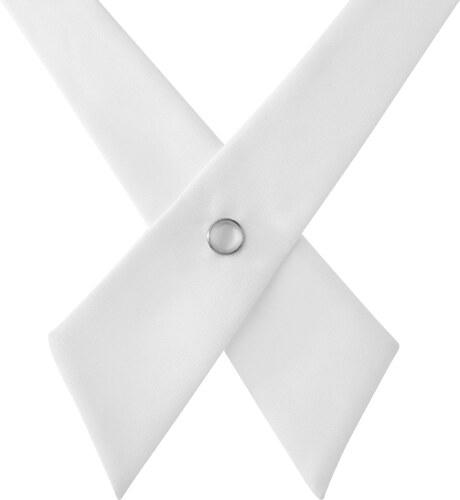 272f93c5f68 TND Basics Bílá kravata Crossover - Glami.cz