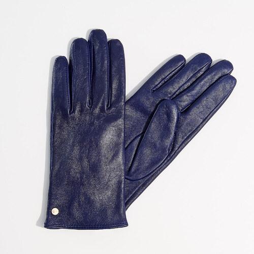 Mohito - Kožené rukavice - Fialová - Glami.cz 0ace1e3998