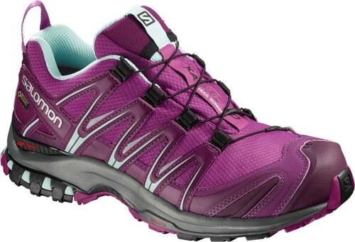 Trailové topánky Salomon XA PRO 3D GTX W Hollyhock Darkpurp L40472300 719bdb6372