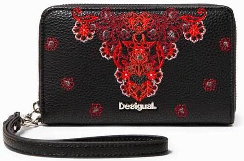 peňaženka Desigual Manuela Mini Zip negro - Glami.sk abb804c38ea