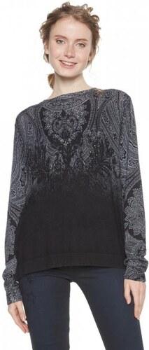 Desigual dámský svetr Edimburgo XL černá - Glami.cz e578aad0da