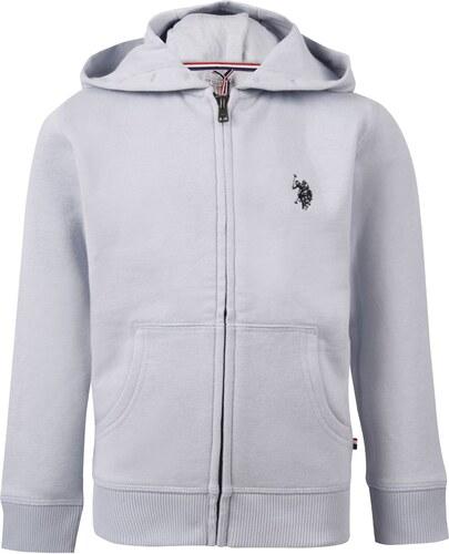 Mikina US Polo Assn Zip Hoodie - Glami.sk 1cf98e2e03