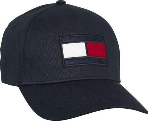 Tommy Hilfiger sötétkék silt sapka SPW Flag Cap - Glami.hu d5531536e6