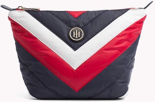 032456c636 Tommy Hilfiger háromszínű kozmetikai táska Poppy Wash Bag Chevron ...