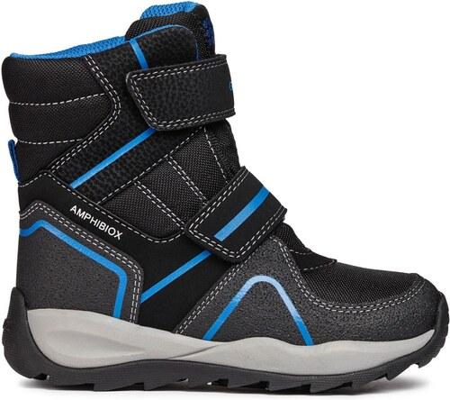 Geox Chlapecké zimní boty Orizont - černé - Glami.cz 3b1d69dde5