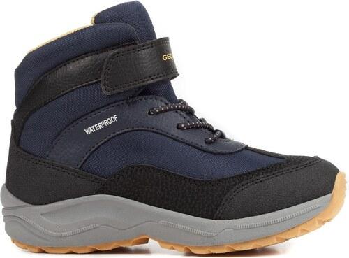 Geox Chlapecké zimní boty New Alaska - modré - Glami.cz d376ae047e