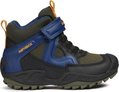 8b278afadadd Geox Chlapčenské zimné topánky New Savage - modré - Glami.sk