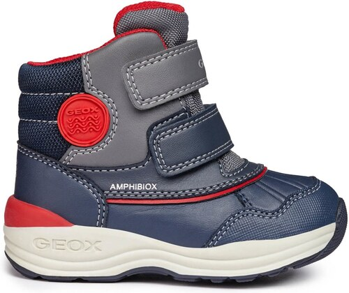 Geox Chlapčenské zimné topánky New Gulp - modré - Glami.sk 62e09c04f97