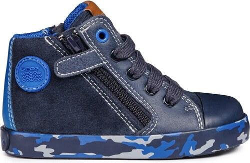5281c120ff29 Geox Chlapčenské členkové topánky Kilwa - modré - Glami.sk