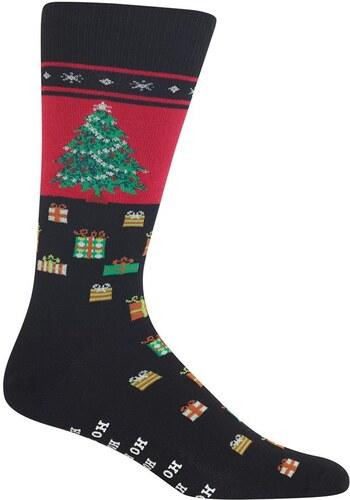 a5dd704efe8 HOT SOX Vánoční ponožky protiskluzové Christmas Tree PÁNSKÉ - Glami.cz