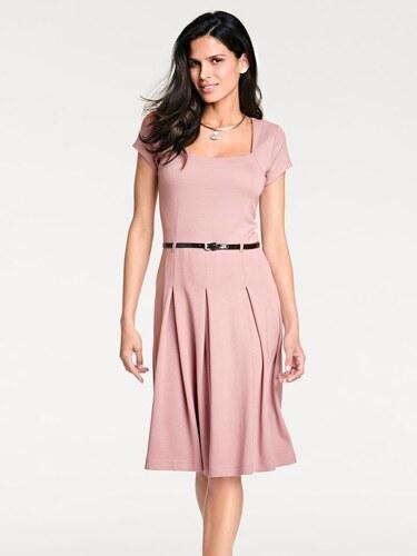 273afdcd4956 heine TIMELESS Džersejové šaty ružová - Glami.sk
