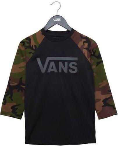 Dětské tričko Vans CLASSIC RAGLAN BOYS Black Camo XL - Glami.cz 1ad9d39ad4