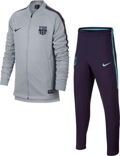 Tepláková souprava Nike FC Barcelona Tracksuit Junior Boys - Glami.cz 381c3e2b617