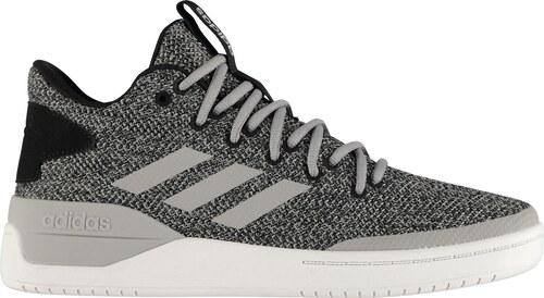-12% basketbalové boty boty adidas Retro Basketball pánské GreyMarl Blk Wh 4ede865fe28