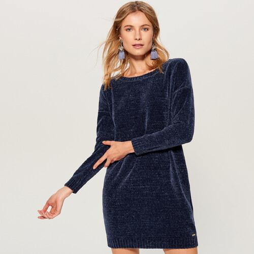 Mohito - Žinylkové šaty - Modrá - Glami.cz 5af8528d269