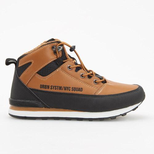 Reserved - Zateplené topánky nad členok - Hnědá - Glami.sk dfaf744b055