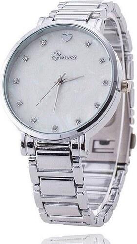 Shim Watch Geneva hodinky dámské opál stříbrné - Glami.cz 3e14c3c751