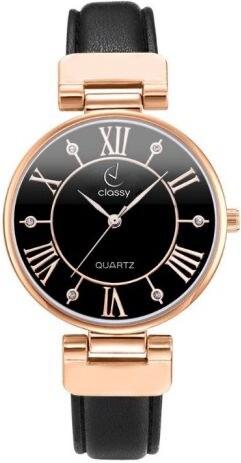 90141c20ad3 Shim Watch CLASSY dámské hodinky s římskými indexy Černé - Glami.cz