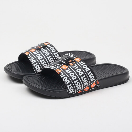 Nike Benassi JDI Print black   black - Glami.cz dc9478698b