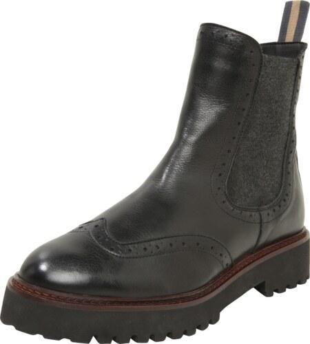e5110766364d Marc O Polo Chelsea boty světle béžová   vínově červená   černá ...