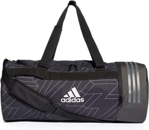 7eaac53c72d4a adidas CORE Tmavosivá športová taška Core Duffel Bag - Glami.sk