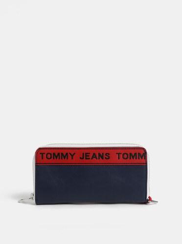 57b947981b2 Tmavě modrá dámská peněženka s logem Tommy Hilfiger Tape - Glami.cz