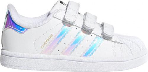 -40% Detské tenisky adidas Originals SUPERSTAR CF I (Biela   Strieborná) 24109e530e1