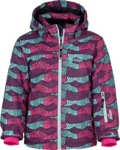 Dětská zimní lyžařská bunda KILPI GENOVESA-JG zelená (kolekce 2018 ... e89aa026c1