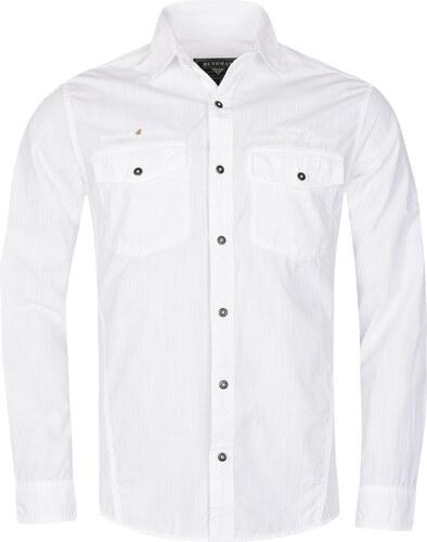 Pánská košile BUSHMAN GENT bílá - Glami.cz d6112fa1f9