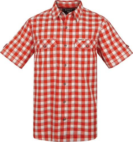 Pánská košile BUSHMAN GORDON oranžová - Glami.cz 51a5872596