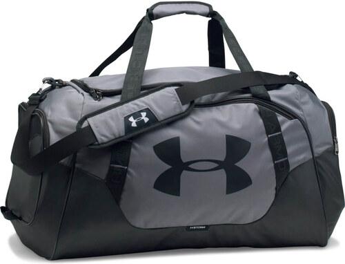 45cb65211c Športová taška Undeniable Duffle 3.0 MD Grey Black - Under Armour ...