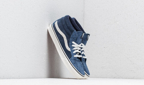 04806f0acb1a Vans SK8-Mid Reissue (Hairy Suede Mix) Dress Blue/ Snow White - Glami.hu