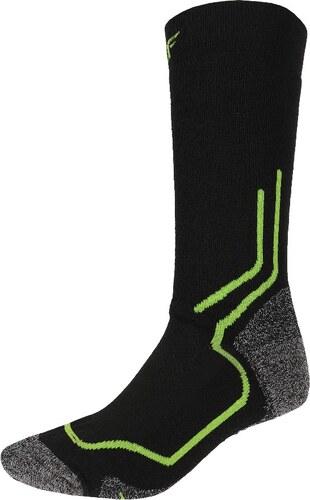 d3763e6b3ee 4F Trekkingové ponožky unisex SOUT200 - hluboké černé - Glami.cz