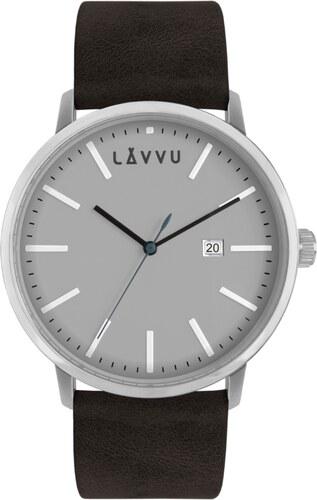 Černo-šedé pánské hodinky LAVVU COPENHAGEN STONE BLACK - Glami.cz 07a1b823f2
