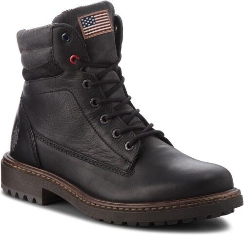 Outdoorová obuv U.S. POLO ASSN. - Woodson YURI4058W8 LT1 Blk - Glami.sk e6fb81c05f
