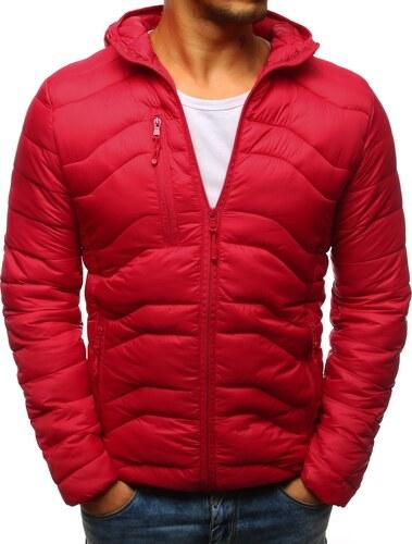 Brand Červená pánska bunda s kapucňou (tx2238) tx2238 - Glami.sk 1588b8f46f6