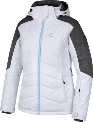 -30% HANNAH NANETT Dámská lyžařská bunda 10000144HHX01 bright white gray mel  34 864575b55b9
