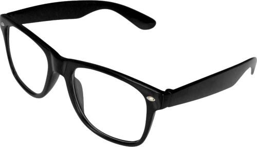 f7d302e16 Wayfarer Slnečné okuliare VeyRey Nerd číre čierne - Glami.sk