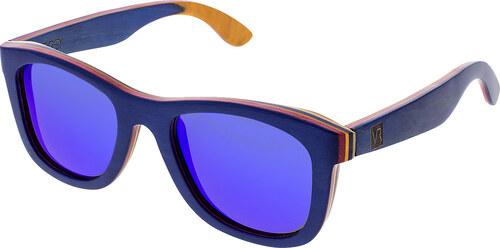 68a89ff10 VeyRey drevené slnečné polarizačné okuliare Metasequoia modré - Glami.sk